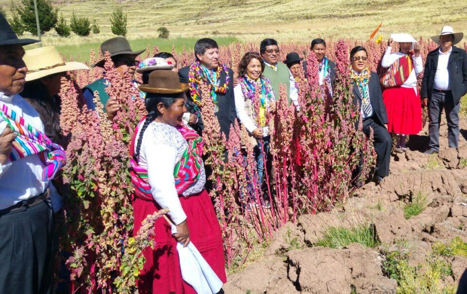 Dia del Campesino Peruvian Farmers