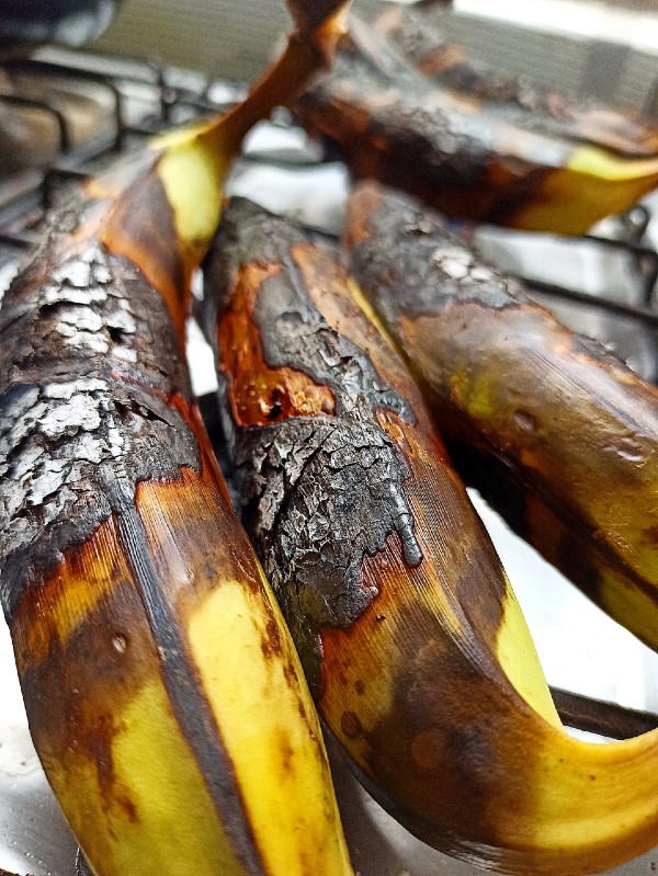 charbroiled plantains