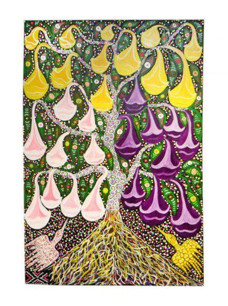 Amazon tree textile