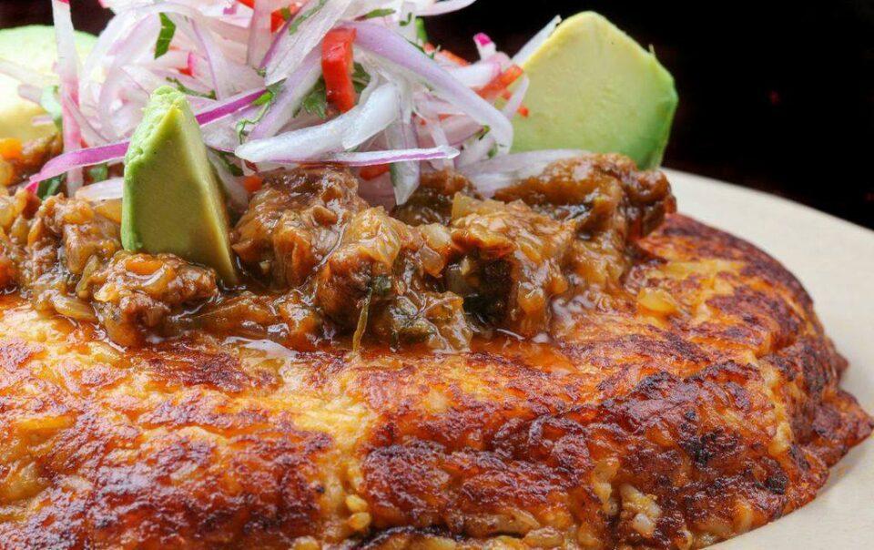Tacu tacu Peruvian dish