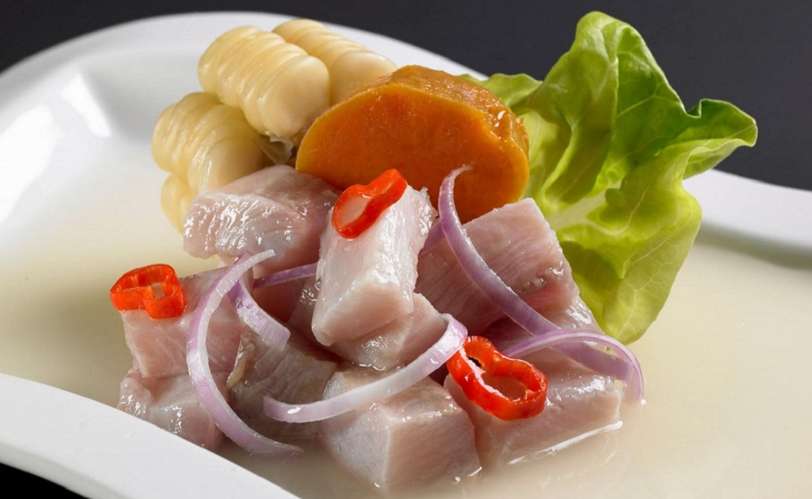 Peruvian Ceviche most popular dish in South America