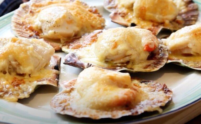 Martin Morales Parmesan Scallops Recipe