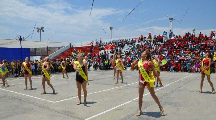 baton-twirlers-spring-festival