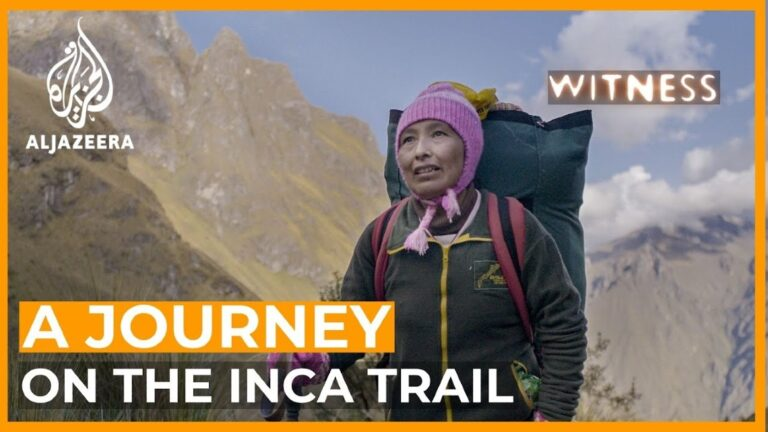 Inca Trail Woman Porter Documentary