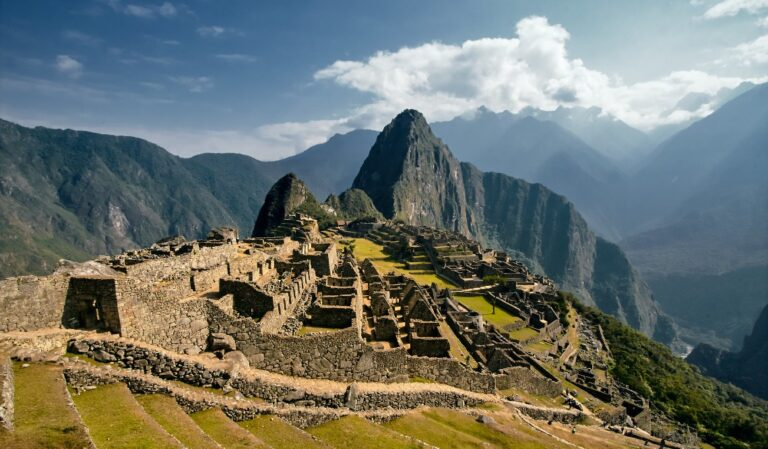 Machu Picchu carbon neutral destination Peru