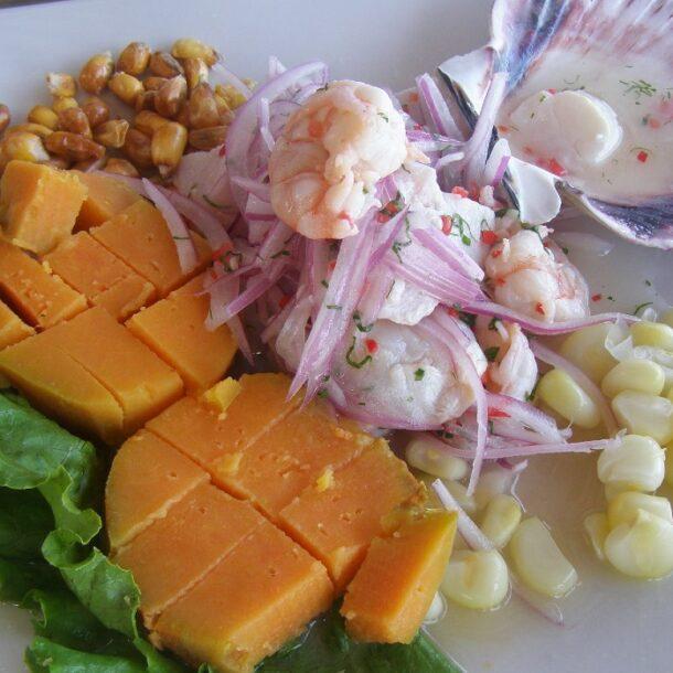 Peruvian Ceviche Corn Sweet Potato Side Dishes