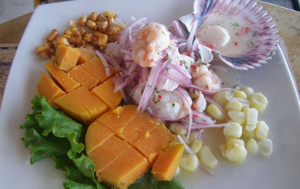 Peruvian Ceviche Corn Sweet Potato Side Dishes