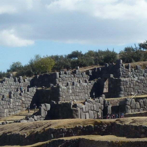 Sacsayhuaman Peru Cusco Archaeological Site
