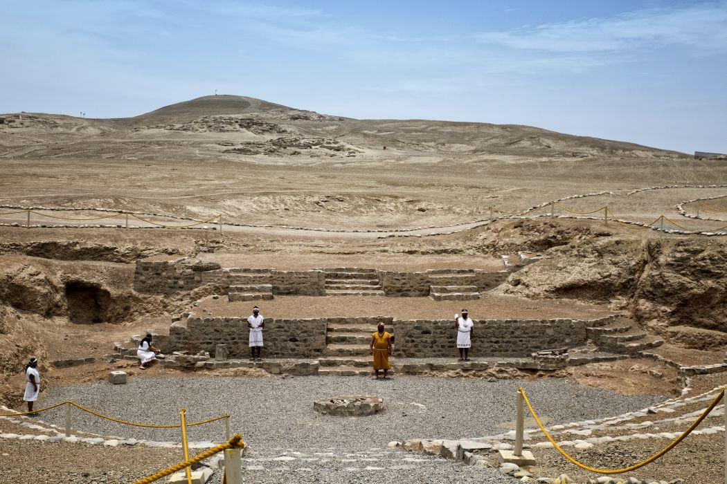 Vichama Archaeological site Peru