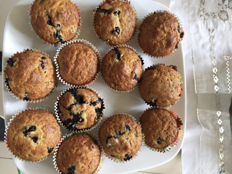 blueberries orange muffins recipe peru
